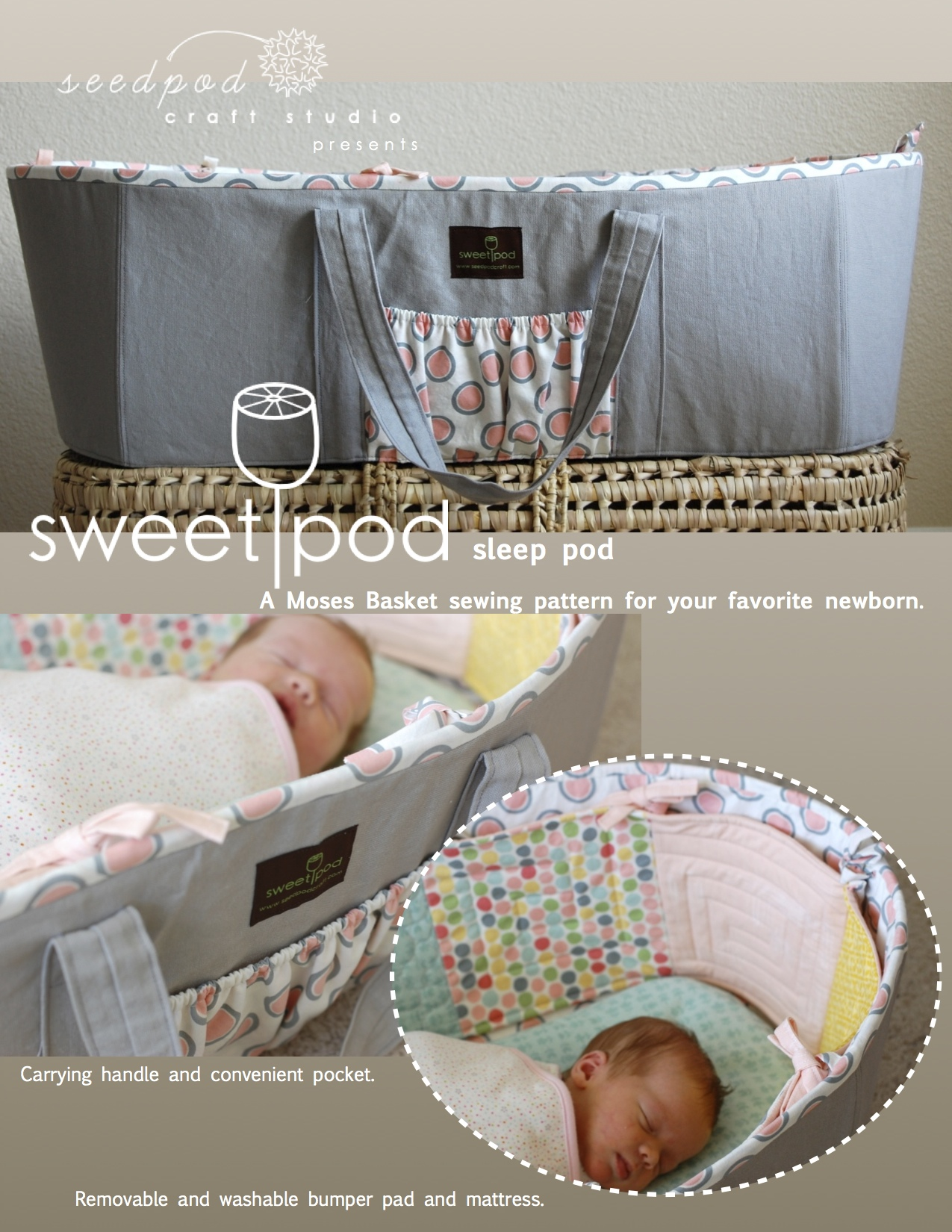 Sweetpod Baby Gear For Home Sewers